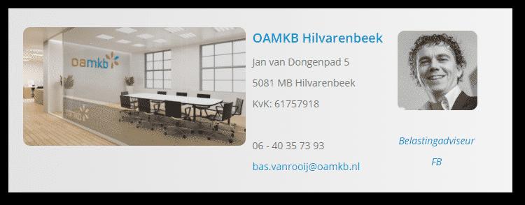 OAMKB Hilvarenbeek is de financieel partner van Nieuwe Start Ervaringswerk