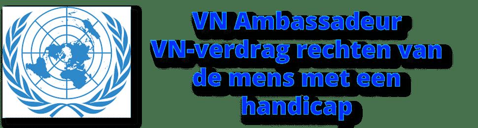 VN Ambassadeur Stefan Vlaminckx voor het VN verdrag rechten van de mens met een handicap